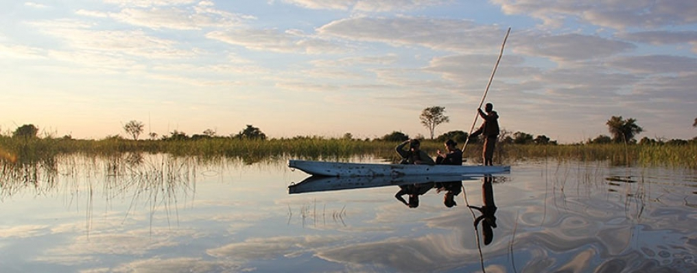 Mokoro Trip on the Okavango Delta, Botswana