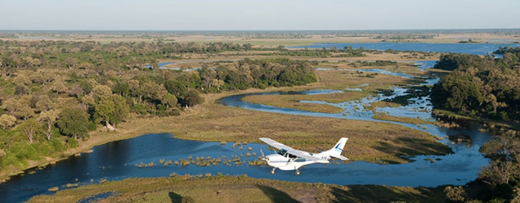 Senic Flight over the Okavango Delta, Botswana